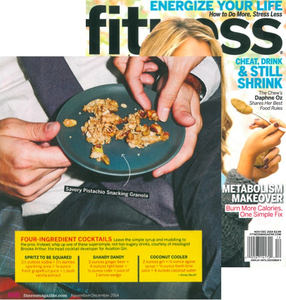 2014 Fitness Mag Aviation Gin